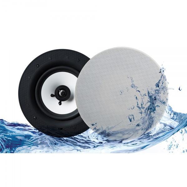 Lithe Audio Bluetooth IP44 Rated Bathroom 6.5'' Ceiling Speaker (PAIR)