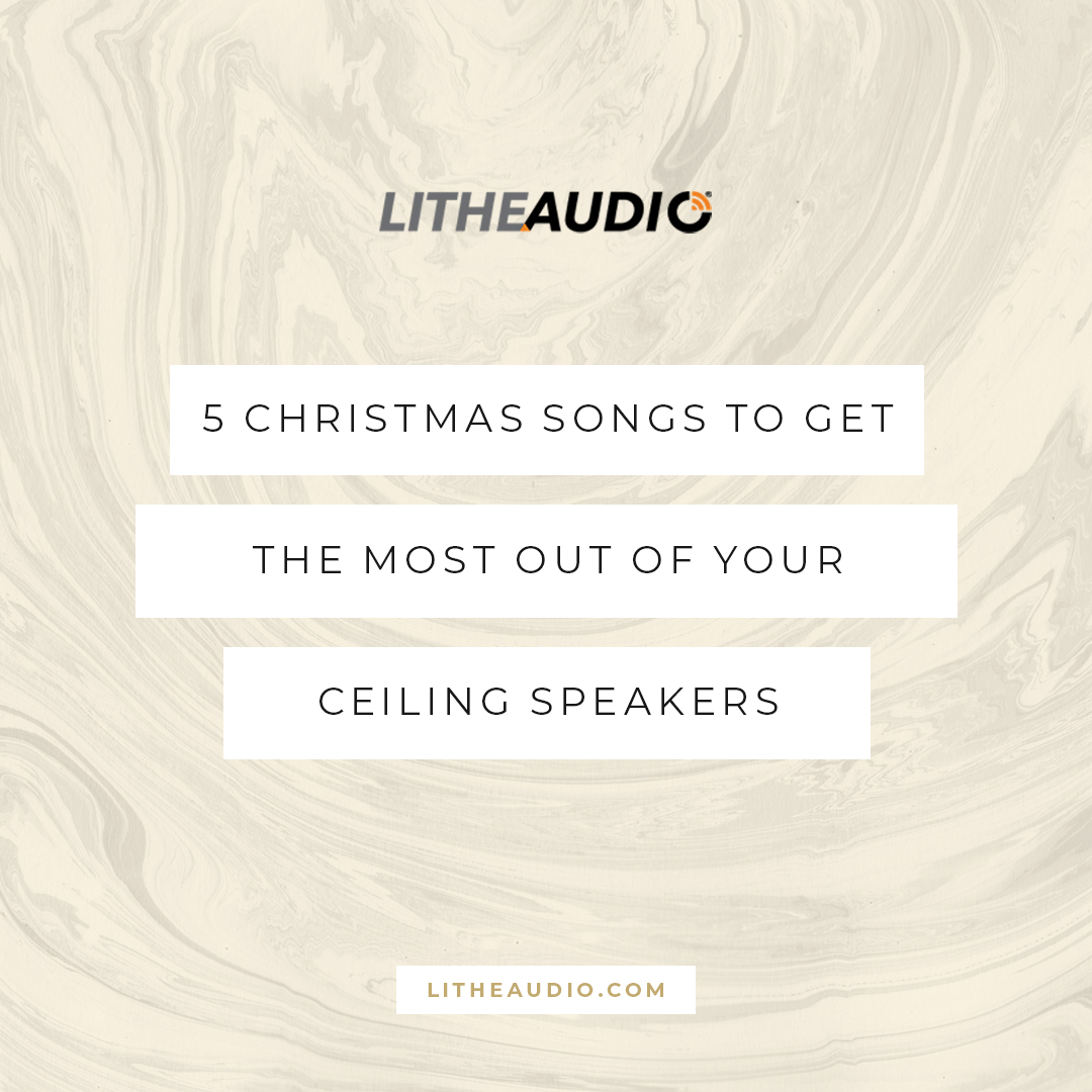 5 Christmas songs to get the most out of your ceiling speakers