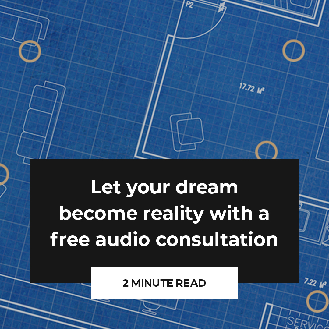 Let your dream become reality with a free audio consultation