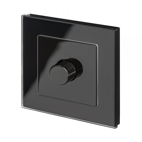 Crystal RCA Volume Controller Black PG