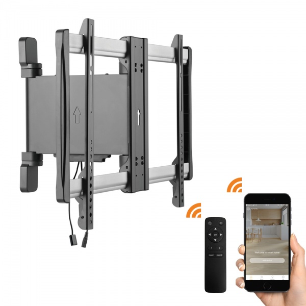 Motorised Wall Mount 32-60'' - Remote and APP control