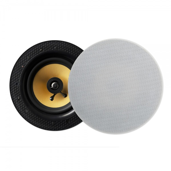 Lithe Audio Bluetooth Wireless 6.5'' Ceiling Speaker (PAIR - Master/Slave)
