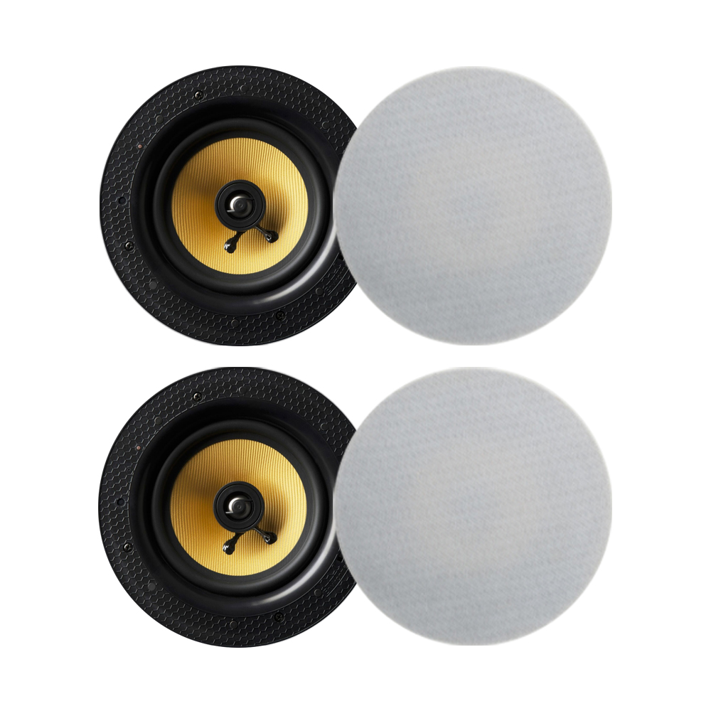 Lithe Audio Bluetooth Wireless 6.5'' Ceiling Speaker (2 Master And 2 Passives)